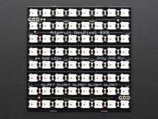 Adafruit Neopixel Neomatrix 8X8 - 64 RGB LED Pixel Matrix - Chicago Electronic Distributors  - 3