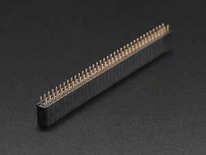 "0.1"" 2x36-pin Strip Straight Socket (Female) Header (5 pack) - Chicago Electronic Distributors"