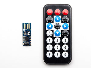 Adafruit IRKey with Remote - IR Remote to Keyboard - Chicago Electronic Distributors