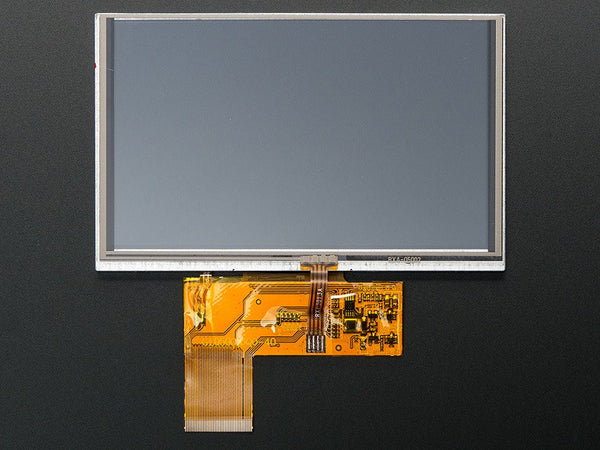 "5.0"" 40-pin TFT Display - 800x480 with Touchscreen - Chicago Electronic Distributors  - 1"