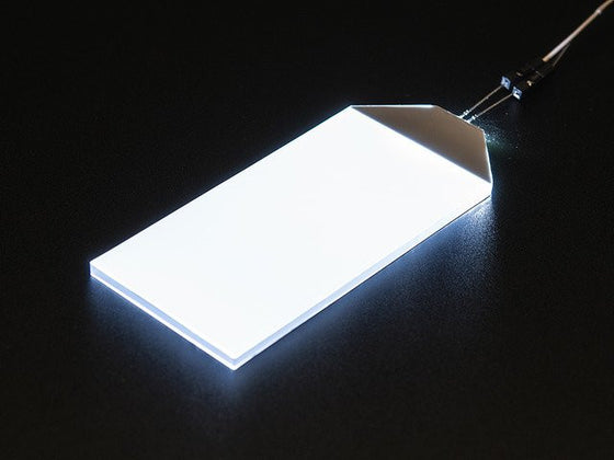 White LED Backlight Module - Large 45mm x 86mm - Chicago Electronic Distributors
