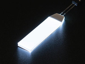 White LED Backlight Module - Small 12mm x 40mm - Chicago Electronic Distributors