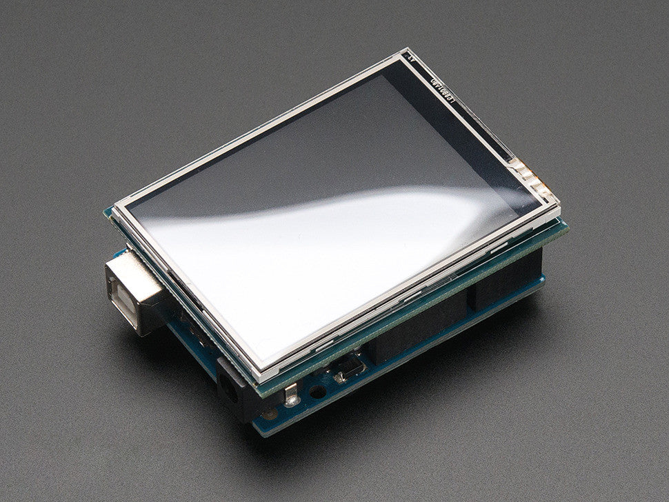 "2.8"" TFT Touch Shield for Arduino with Resistive Touch Screen - Chicago Electronic Distributors  - 4"