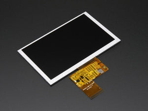"5.0"" 40-pin 800x480 TFT Display without Touchscreen - Chicago Electronic Distributors"