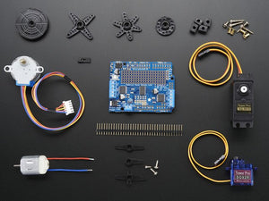 Motor party add-on pack for Arduino - Chicago Electronic Distributors