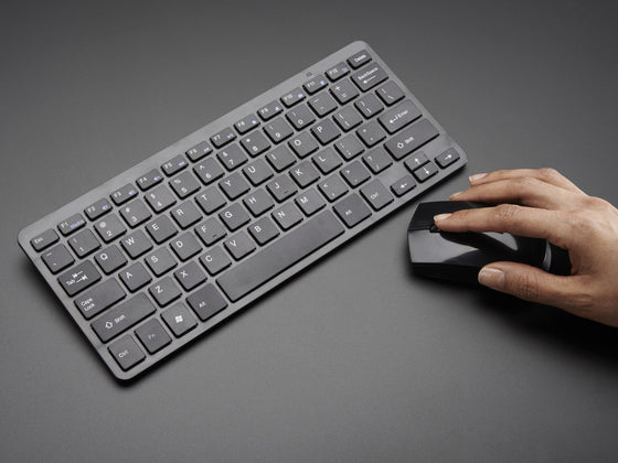 Wireless Keyboard and Mouse Combo w/ Batteries - One USB Port! - Chicago Electronic Distributors  - 1