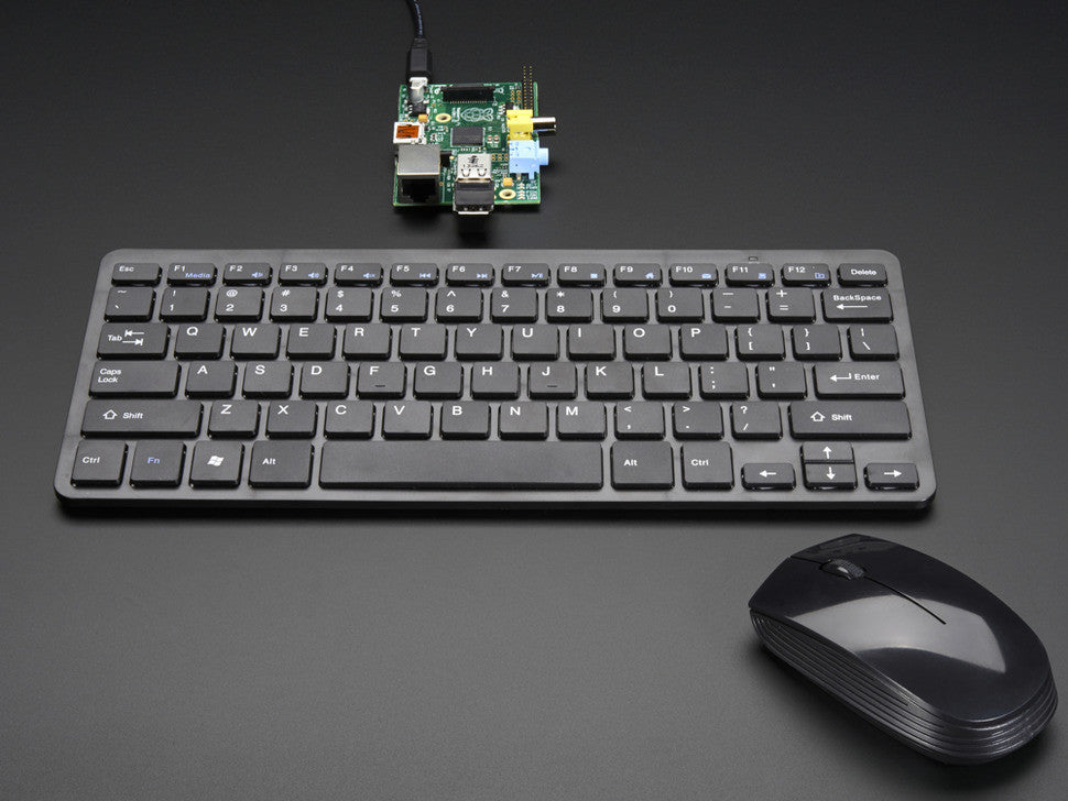 Wireless Keyboard and Mouse Combo w/ Batteries - One USB Port! - Chicago Electronic Distributors  - 2