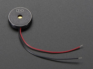 Small Enclosed Piezo w/Wires - Chicago Electronic Distributors