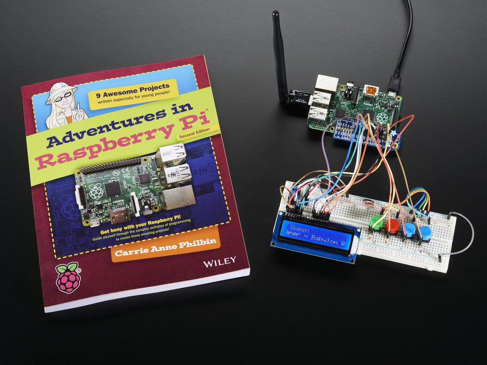 Companion Parts Pack for Adventures in Raspberry Pi - Chicago Electronic Distributors  - 2