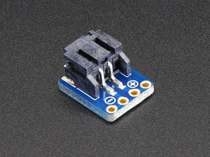 JST-PH 2-Pin SMT Right Angle Breakout Board - Chicago Electronic Distributors