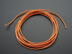 Silicone Cover Stranded-Core Wire - 2m 26AWG Orange - Chicago Electronic Distributors