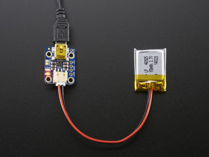 Adafruit Mini Lipo w/Mini-B USB Jack - USB LiIon/LiPoly charger - Chicago Electronic Distributors  - 2