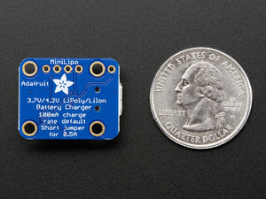 Adafruit Mini Lipo w/Mini-B USB Jack - USB LiIon/LiPoly charger - Chicago Electronic Distributors  - 7