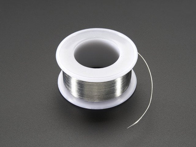 "Solder Wire - SAC305 RoHS Lead Free - 0.5mm/.02"" diameter - Chicago Electronic Distributors"