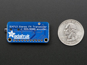 Adafruit Stereo FM Transmitter with RDS/RBDS Breakout - Si4713 - Chicago Electronic Distributors  - 1