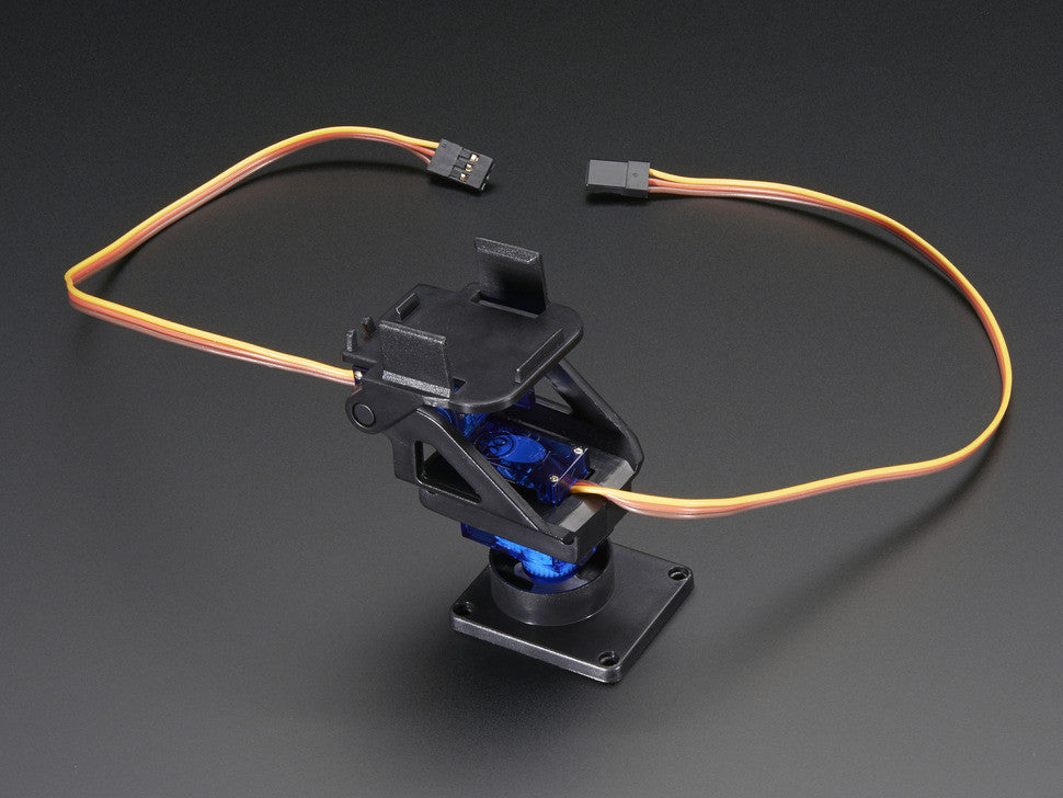 Mini Pan-Tilt Kit - Assembled with Micro Servos - Chicago Electronic Distributors  - 3