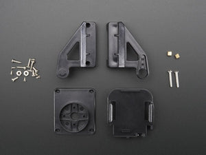 Unassembled Mini Pan-Tilt Kit (Without Micro Servos) - Chicago Electronic Distributors