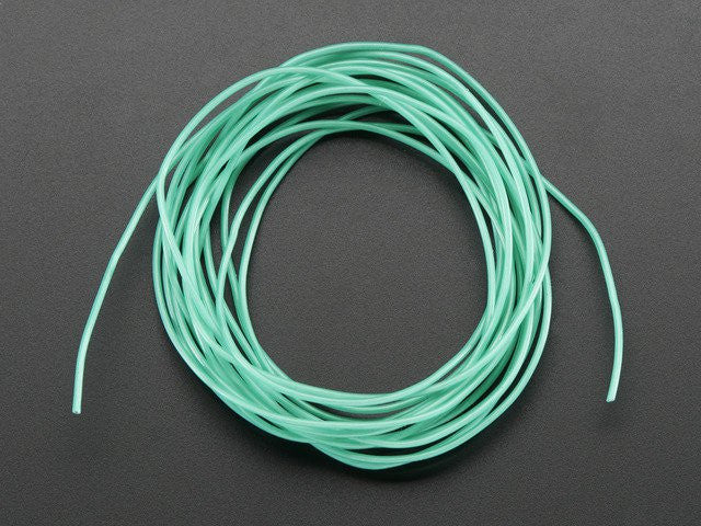 Silicone Cover Stranded-Core Wire - 2m 30AWG Green - Chicago Electronic Distributors