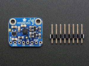 Adafruit Triple-Axis Accelerometer - ±2/4/8g @ 14-bit - MMA8451 - Chicago Electronic Distributors  - 3