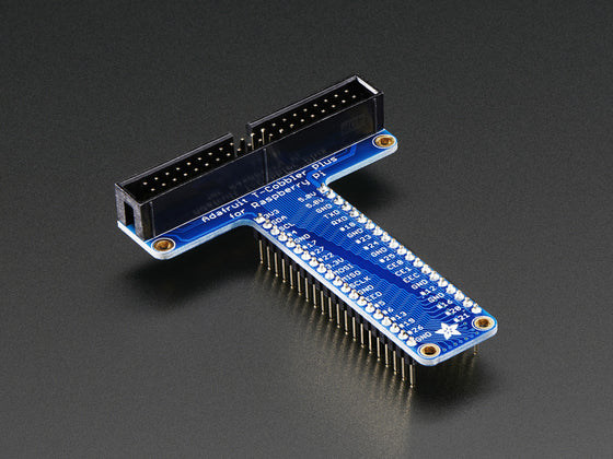 Assembled Pi T-Cobbler Plus - GPIO Breakout for Raspberry Pi B+ - Chicago Electronic Distributors  - 1