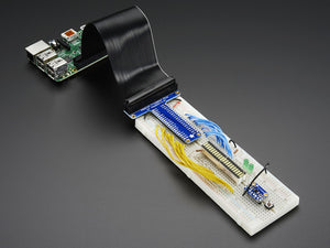 Assembled Pi T-Cobbler Plus - GPIO Breakout for Raspberry Pi B+ - Chicago Electronic Distributors  - 2
