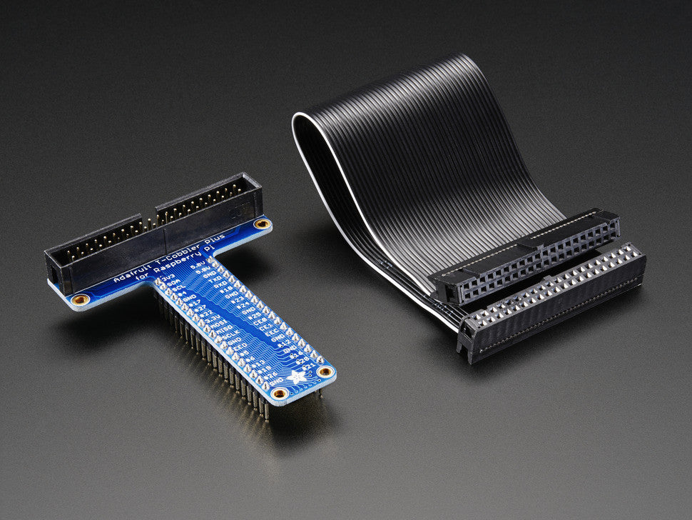 Assembled Pi T-Cobbler Plus - GPIO Breakout for Raspberry Pi B+ - Chicago Electronic Distributors  - 4