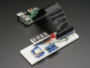 Assembled Pi Cobbler Plus - Breakout Cable for Raspberry Pi B+ - Chicago Electronic Distributors  - 2