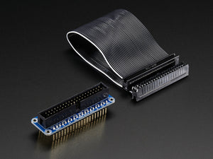 Assembled Pi Cobbler Plus - Breakout Cable for Raspberry Pi B+ - Chicago Electronic Distributors  - 3