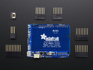 Adafruit PowerBoost 500 Shield - Rechargeable 5V Power Shield - Chicago Electronic Distributors  - 2