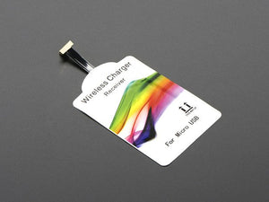 Universal Qi Wireless Charging Module - 20mm Reverse MicroUSB - Chicago Electronic Distributors