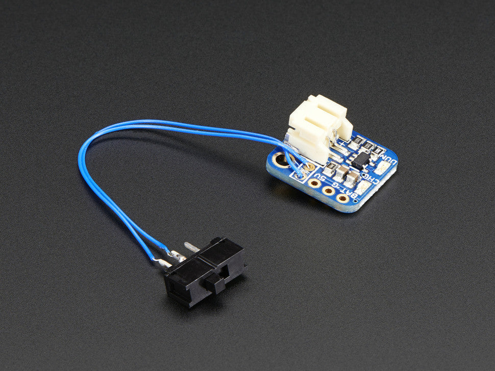Adafruit Pro Trinket LiIon/LiPoly Backpack Add-On - Chicago Electronic Distributors  - 2