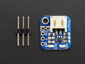 Adafruit Pro Trinket LiIon/LiPoly Backpack Add-On - Chicago Electronic Distributors  - 3
