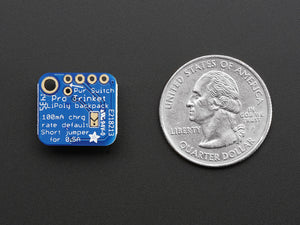 Adafruit Pro Trinket LiIon/LiPoly Backpack Add-On - Chicago Electronic Distributors  - 4