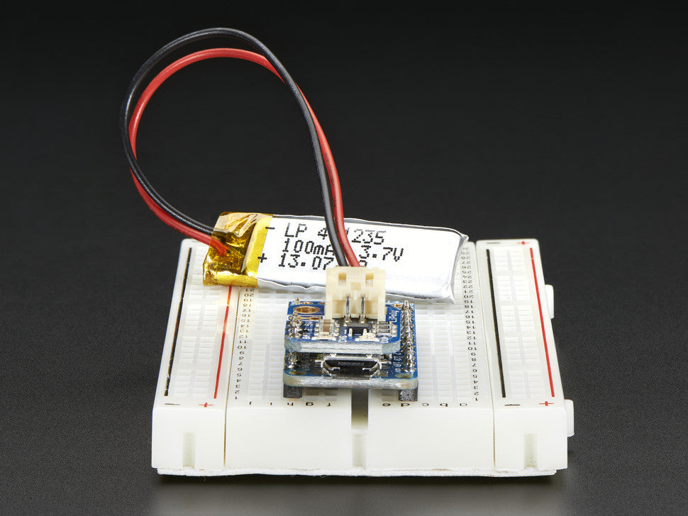 Adafruit Pro Trinket LiIon/LiPoly Backpack Add-On - Chicago Electronic Distributors  - 5