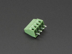 "2.54mm/0.1"" Pitch Terminal Block - 4-pin - Chicago Electronic Distributors"