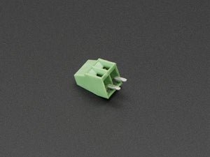 "2.54mm/0.1"" Pitch Terminal Block - 2-pin - Chicago Electronic Distributors"