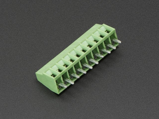 "2.54mm/0.1"" Pitch Terminal Block - 10-pin - Chicago Electronic Distributors"