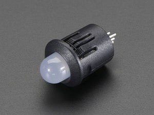 8mm Plastic Bevel LED Holder - Pack of 5 - Chicago Electronic Distributors