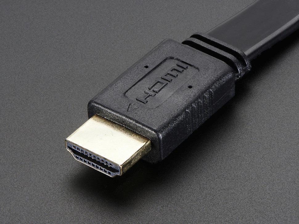 HDMI Flat Cable - 1 foot / 30cm long - Chicago Electronic Distributors  - 3