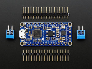 Adafruit Audio FX Sound Board + 2x2W Amp - WAV/OGG Trigger -16MB - Chicago Electronic Distributors  - 3