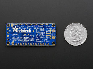 Adafruit Audio FX Sound Board + 2x2W Amp - WAV/OGG Trigger -16MB - Chicago Electronic Distributors  - 4