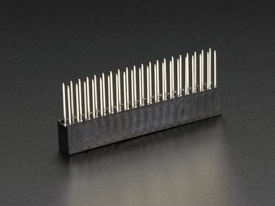 GPIO Stacking Header for Pi A+/B+/Pi 2 - Extra-long 2x20 Pins - Chicago Electronic Distributors  - 1