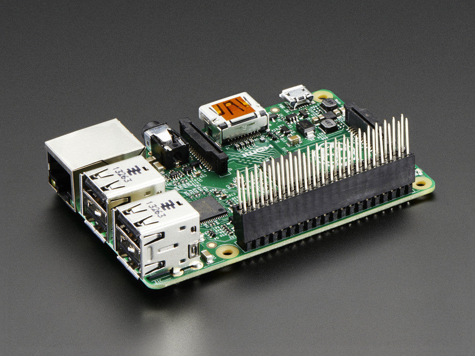 GPIO Stacking Header for Pi A+/B+/Pi 2 - Extra-long 2x20 Pins - Chicago Electronic Distributors  - 2