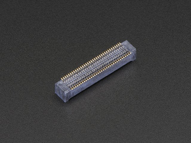 70-pin Hirose Receptacle Header for Intel Edison - 3mm Height - Chicago Electronic Distributors