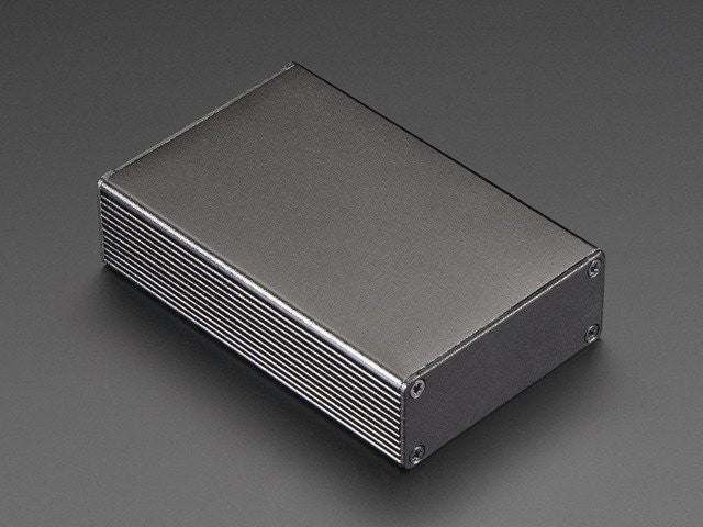 Extruded Aluminum Box - 100mm x 67mm x 26mm - Chicago Electronic Distributors