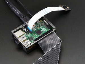 Adafruit Raspberry Pi B+ Case - Smoke Base w/ Clear Top - Chicago Electronic Distributors  - 5