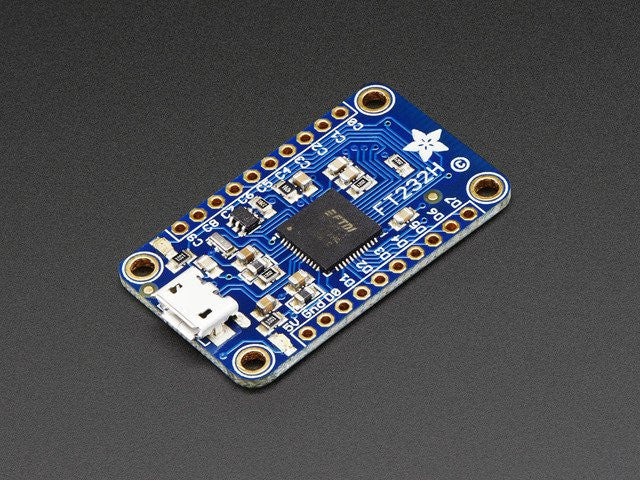 Adafruit FT232H Breakout - General Purpose USB to GPIO+SPI+I2C - Chicago Electronic Distributors