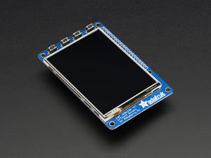 "PiTFT Plus Assembled 320x240 2.8"" TFT + Resistive Touchscreen - Pi 2 and Model A+ / B+ - Chicago Electronic Distributors  - 5"