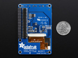 "PiTFT Plus Assembled 320x240 2.8"" TFT + Resistive Touchscreen - Pi 2 and Model A+ / B+ - Chicago Electronic Distributors  - 4"