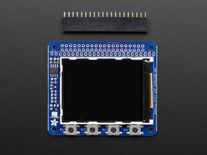 "Adafruit PiTFT 2.2"" HAT Mini Kit - 320x240 2.2"" TFT - No Touch - Chicago Electronic Distributors  - 3"